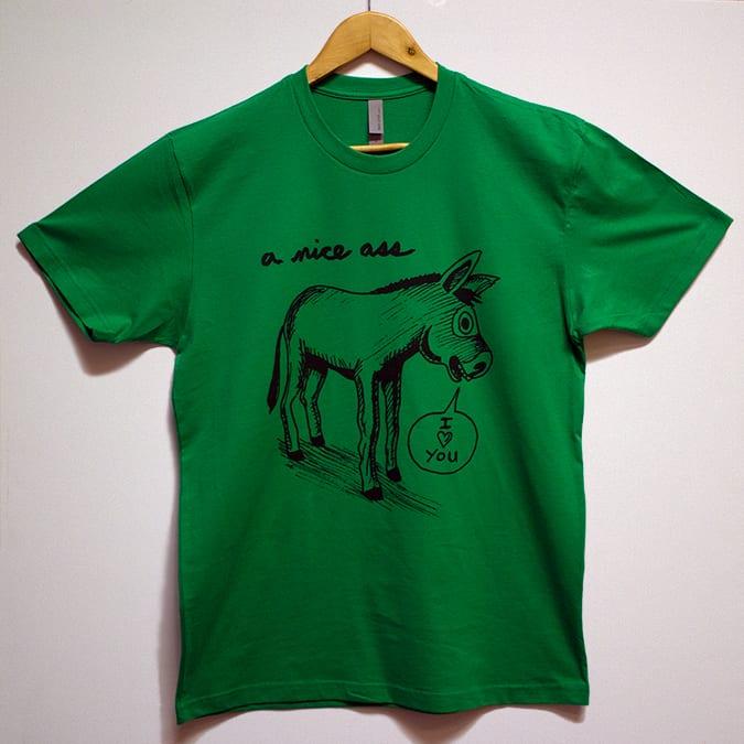 A nice ass green mens tee mike krenner dot com for Nice shirts for men